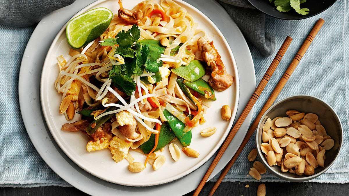 Ταϋλανδέζικο φαγητό , Pad Thai,